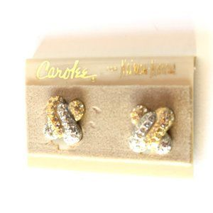 Carolee Jewelry - Vintage Carolee - Neiman Marcus Knot Earrings NWT